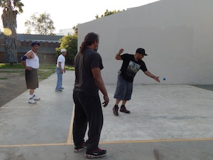 Handball provides exercise, stress relief