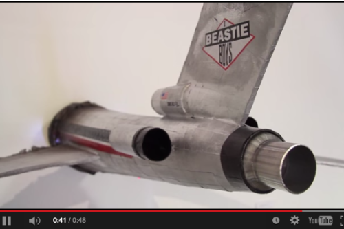 "Artist brings Beastie Boys' ""Licensed to Ill"" airplane to life [VIDEO]"