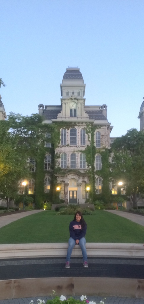 Dulce Morales began Syracuse University in August. Photo courtesy of Dulce Morales.