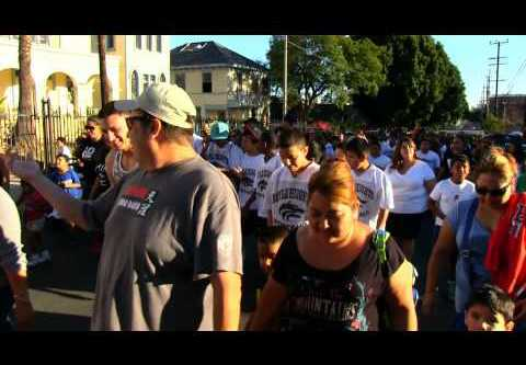 Boyle Heights marches for peace at annual National Night Out