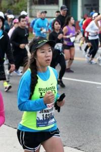 La experiencia de una maratonista