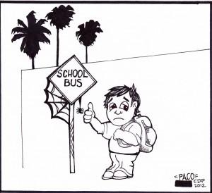 Artículo de opinión: Se restableció el servicio de transporte escolar, ¿pero cuánto tiempo durará?