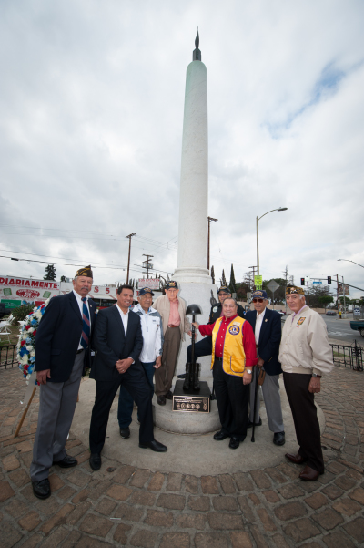 Veterans honored at Cinco Puntos in Boyle Heights