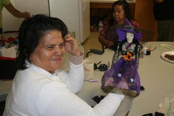 Calaveras are personal for Ramona Gardens seniors