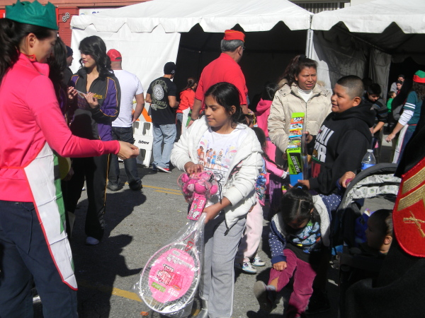 Spreading Christmas cheer at the 33rd annual 'Miracle on First Street'