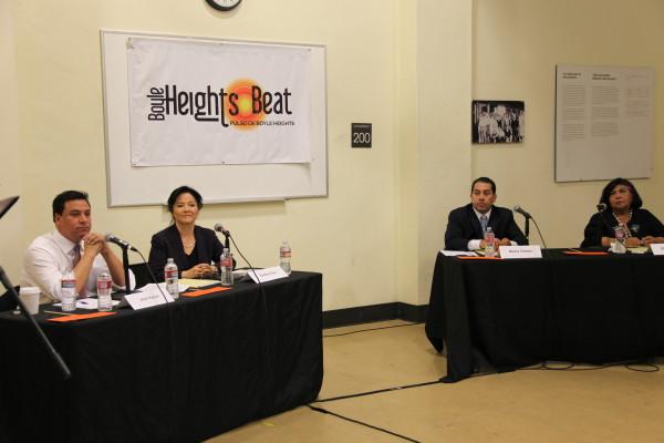 LA City Council candidates discuss housing, development at Boyle Heights forum