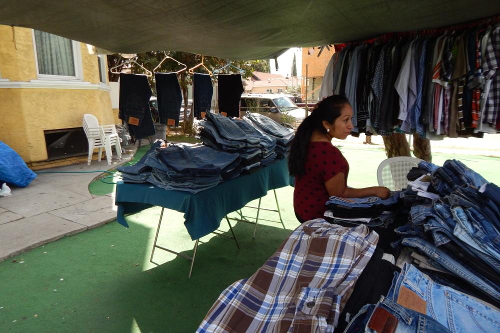 Surviving in the informal economy: <em>Maria Morales, yard sale vendor</em>