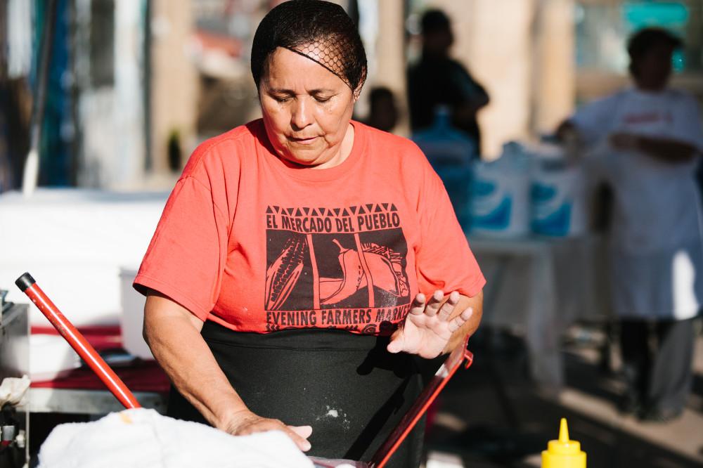 Surviving in the informal economy:<em> Caridad Vazquez, street food vendor</em>