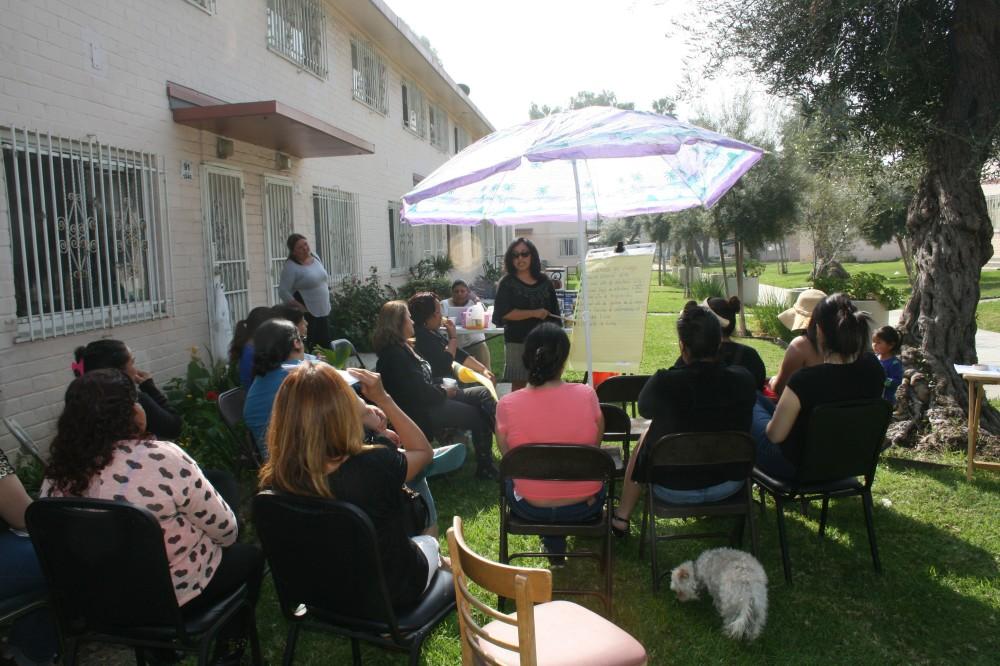 Promotoras provide health resources in Ramona Gardens