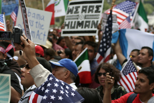 Boyle Heights May Day march and rally calls for equality, immigration reform