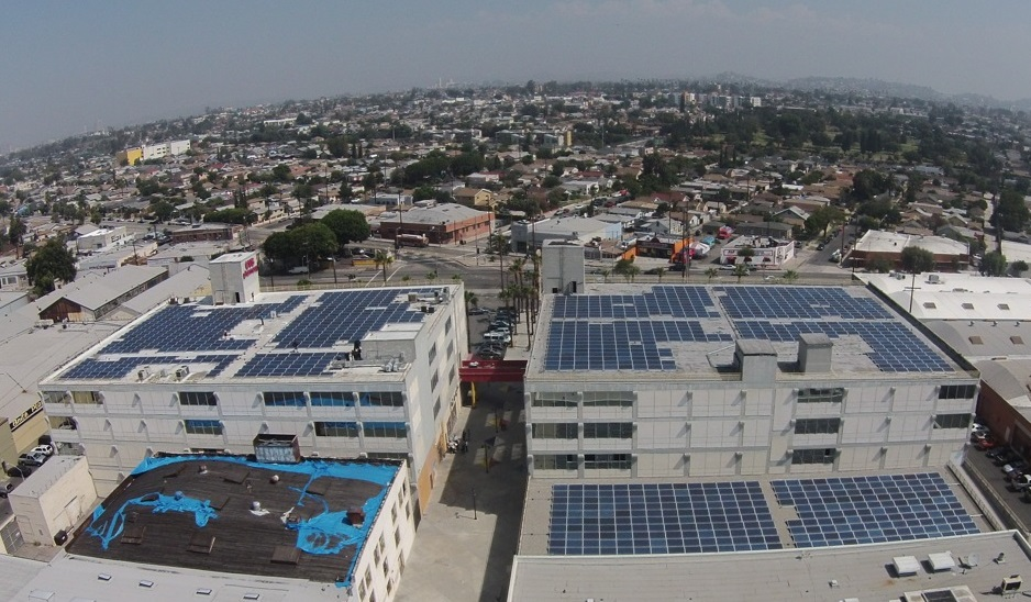 Boyle Heights rooftop to generate solar power as part of LA renewable energy program