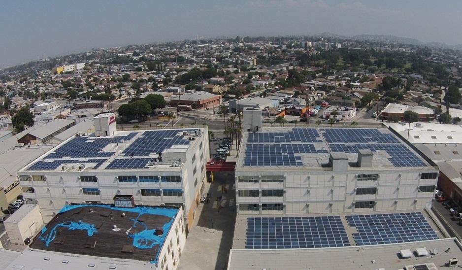 Boyle Heights rooftop to generate solar power as part of LA renewable energy program