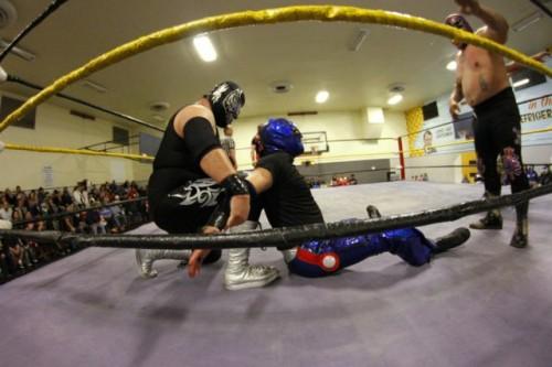 La lucha libre triunfa en grande en Boyle Heights