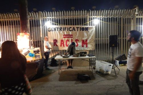 Gallery owner responds to anti-gentrification protests and 'death threats'