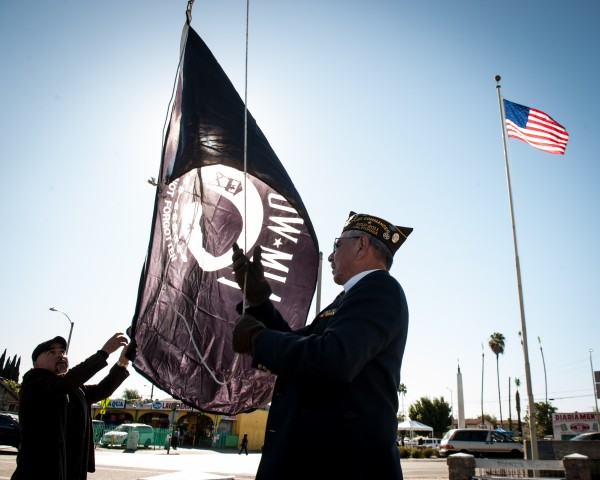 Boyle Heights commemorates Veterans Day