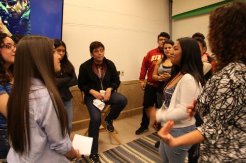 Video: Benicio del Toro meets BHB youth journalists