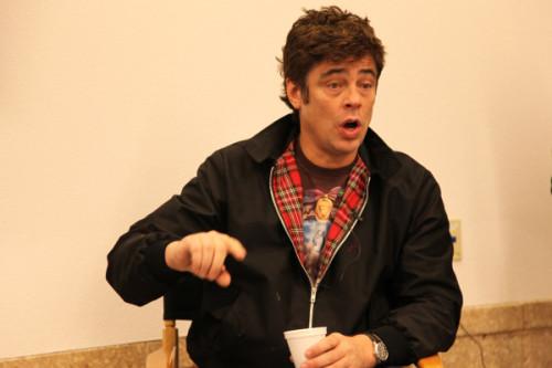 Benicio del Toro: Como actor latino, tuve que trabajar el doble