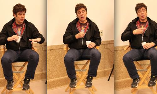 Benicio del Toro: I have to believe the character