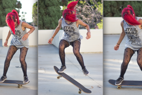 Girl skaters who break barriers