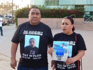 Juan Méndez and his wife Josefina Rizo.