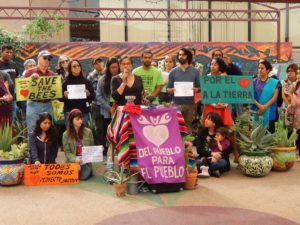 A community gathering held on Saturday.