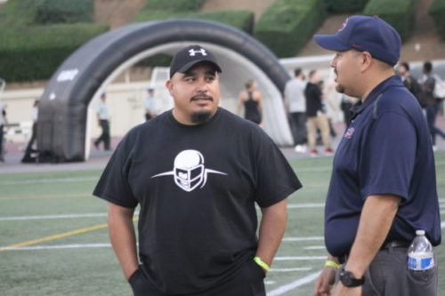 New Roosevelt football coach stresses success on and off the field