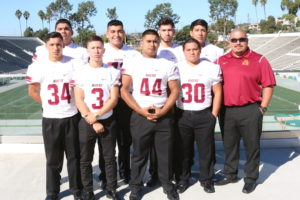Coach Zepeda and the Roosevelt team.