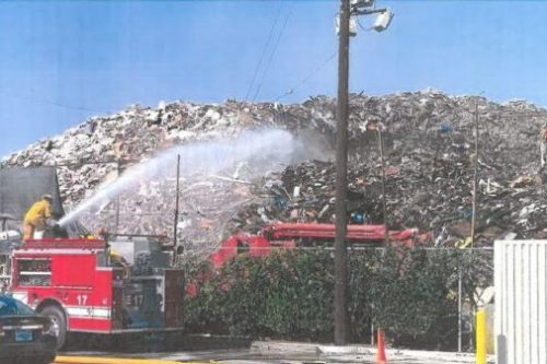 City sues Boyle Heights recycling center where 22-million-pound trash pile burned for six weeks