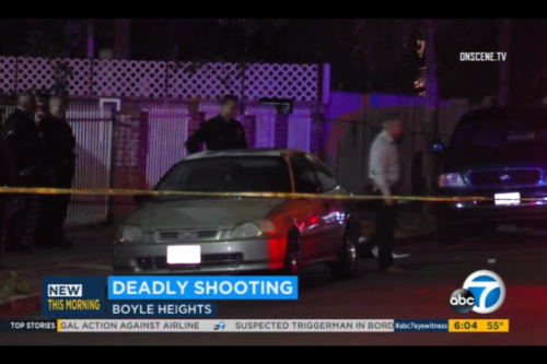 Man shot and killed in Boyle Heights identified