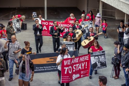Striking Mariachi tenants reach agreement with landlord, will keep their homes