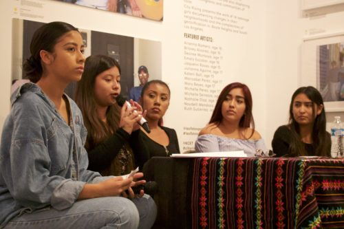 Youth panelists offer their vision of gentrification
