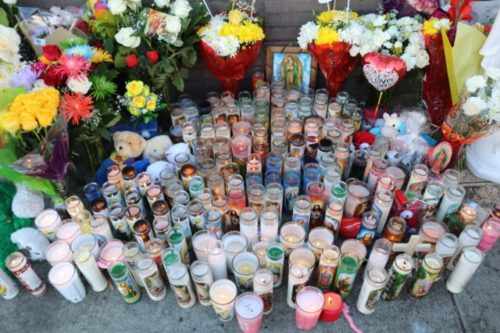 Vigil and fundraiser held for two boys killed by Sheriff's vehicle in collision