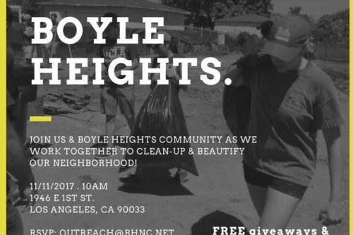Volunteers sought to help clean popular Boyle Heights walkway