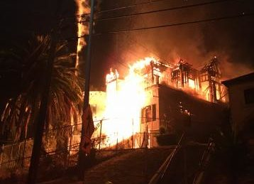 Fire burns Victorian home, nearby apartments in Boyle Heights