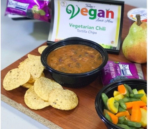 Vegan cafeteria fare comes to Roosevelt High School