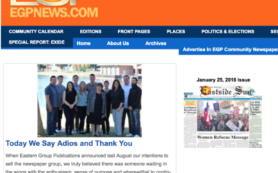 Eastern Group Publications shuts down its six Eastside newspapers