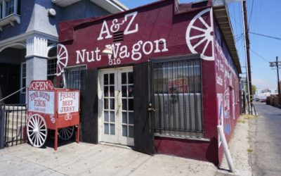 The A & Z Nut Wagon offers loyal customers delicious, savory treats