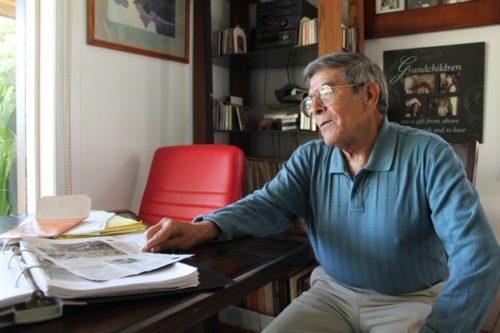 Age has not mellowed Joe Razo, La Raza's fiery co-editor