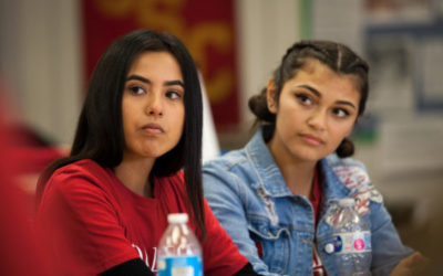 USC CAC adviser brings first-gen pride to Roosevelt High School