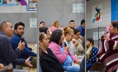 A 'Convivio' in Ramona Gardens: BHB takes community meeting to housing project