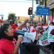 Protesters speak out against new charter school in Boyle Heights